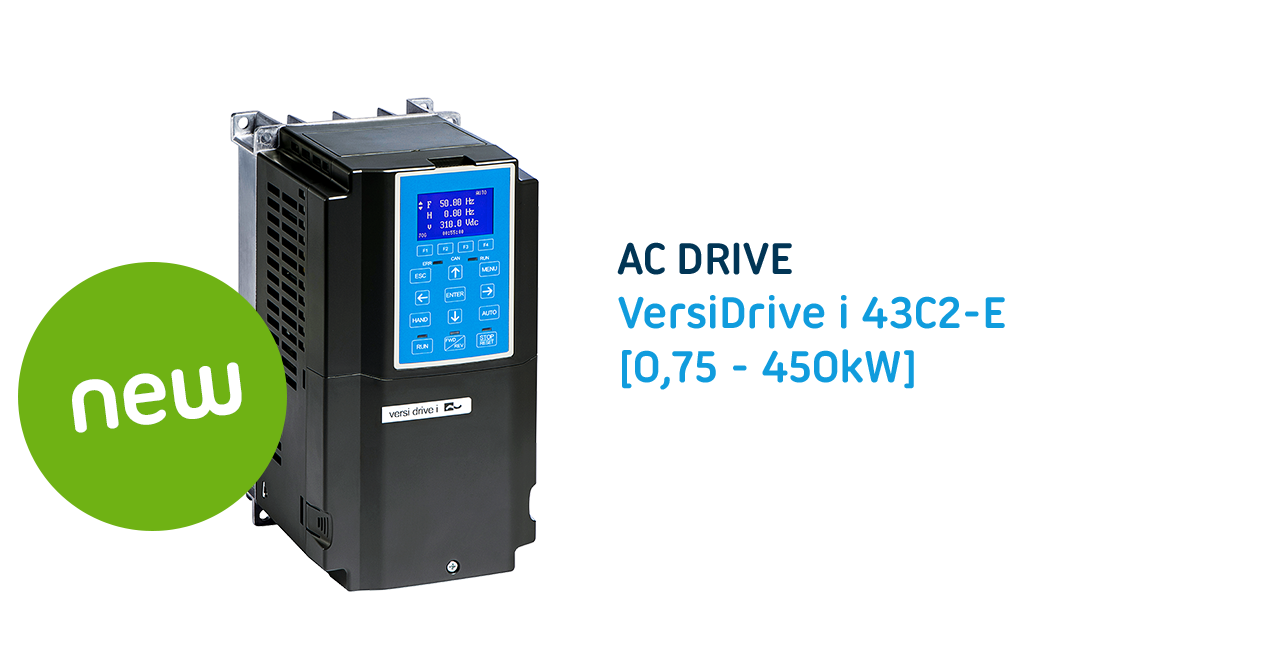 The C2 series: 3 phase ac drive with powerful functions and high efficiency