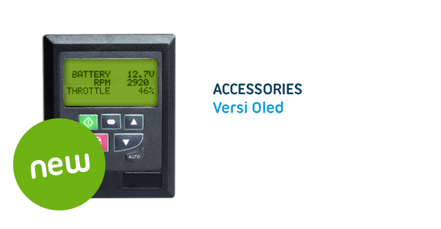 Versi OLED – Remote control for the centralized control of ac drives