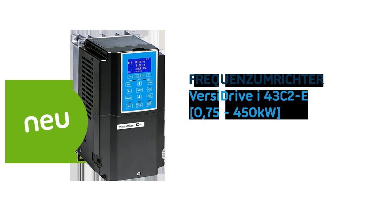 Die C2-Serie – 3 Phasen Frequenzumrichter mit leistungsstarken Funktionen und hoher Effizienz