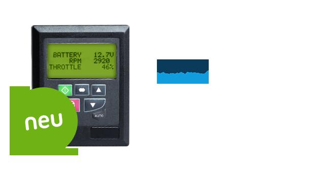 Versi OLED - Fernbedienung zur zentralen Steuerung für Frequenzumrichter